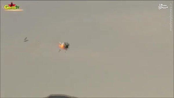 انهدام بالگرد ارتش ترکیه توسط کردها+عکس و فیلم