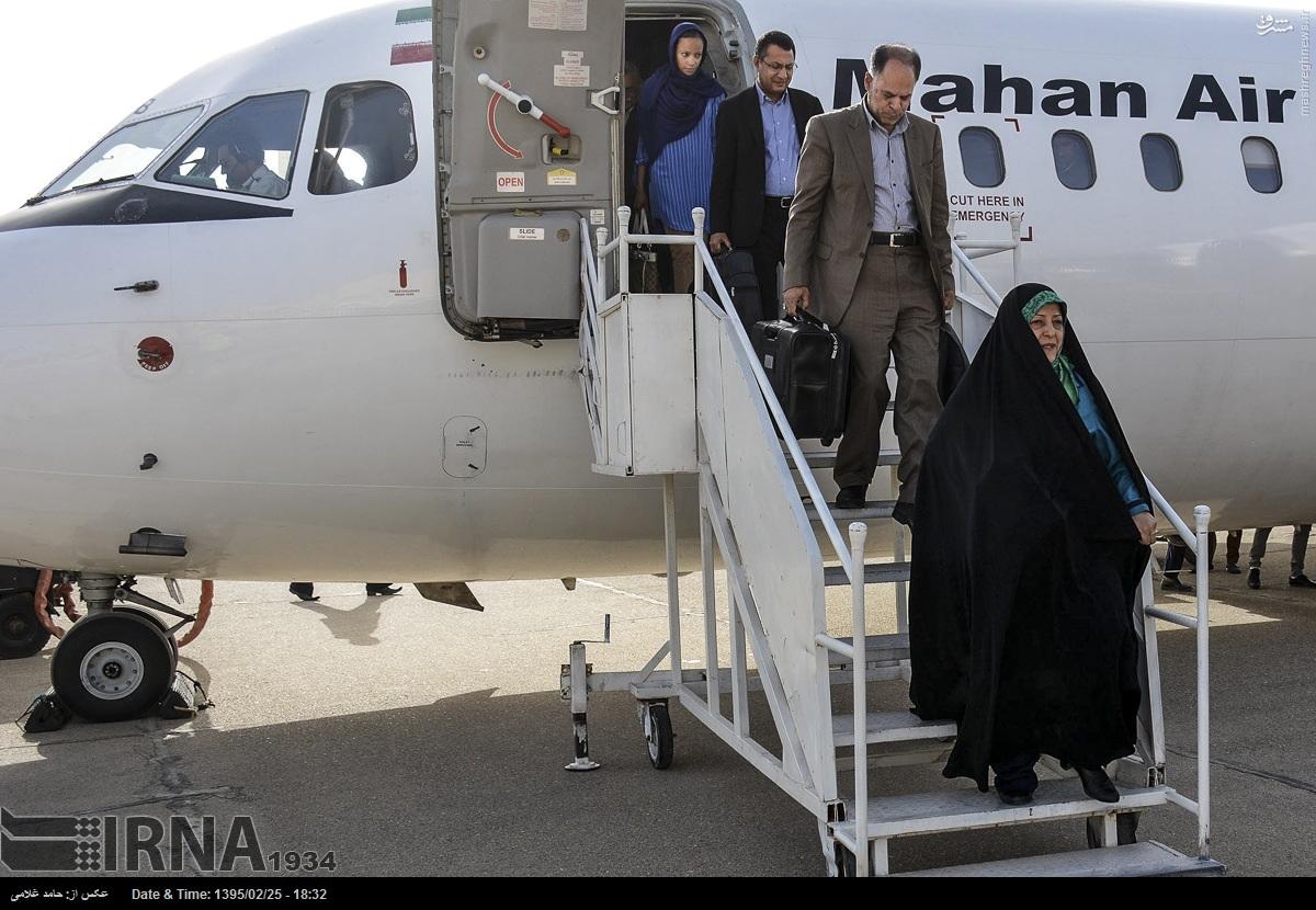 عکس/ هواپیمای ابتکار در زابل