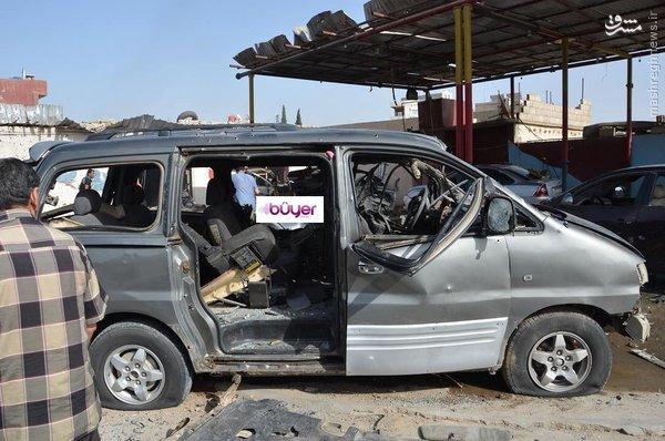انفجار در شهر قامشلی سوریه+عکس