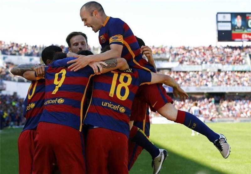 بارسلونا برای بیست و چهارمین بار فاتح لالیگا شد/مردان زیدان در جایگاه دوم
