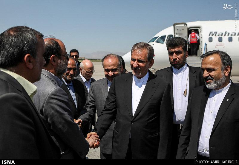 عکس/ هواپیمای جهانگیری در فرودگاه مشهد