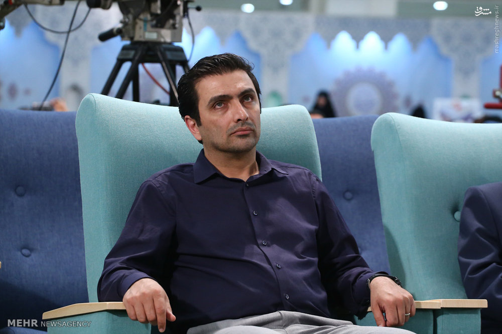 عکس/ آقای بازیگر در مسابقات قرآن
