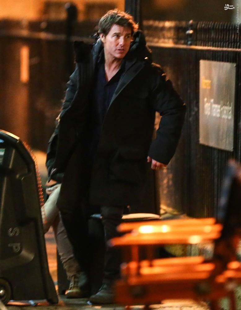 تام کروز با مومیایی دست به یقه شد!