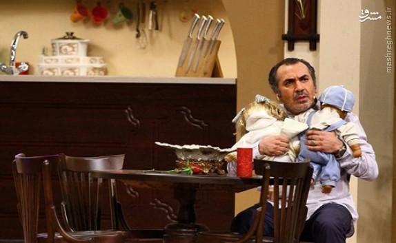 دلخوری مهمان «دورهمی» از سریال مهران مدیری