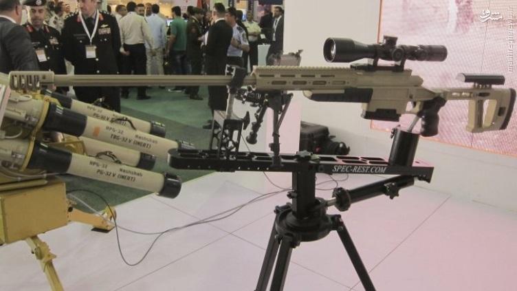 عکس/ تفنگ تک تیرانداز جدید ساخت اردن