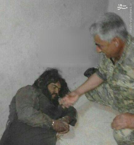 غول داعش اسیر شد +عکس