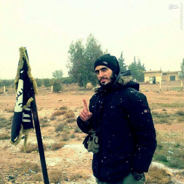 انتحاری ناکام لبنانی عضو داعش در دیرالزور+عکس