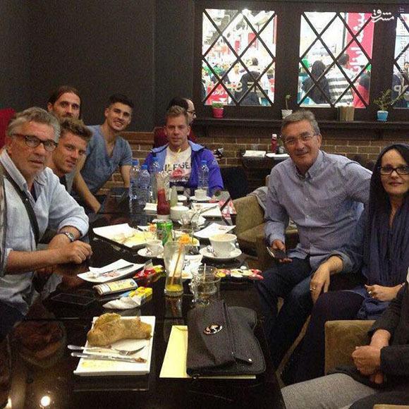 عکس/ جلسه برانکو با کرواتها و مهاجم استقلال