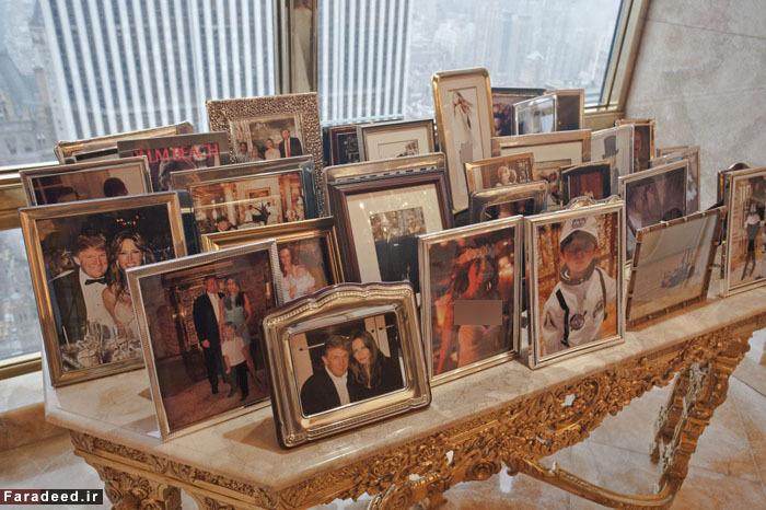 پنتهاوس «دونالد ترامپ» در طبقه شصت و ششم +تصاویر