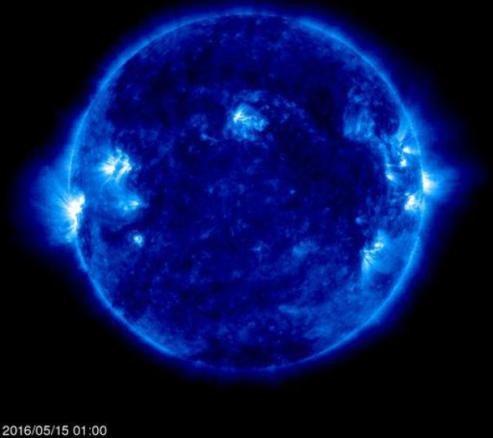 لکه عظیم خورشیدی نمایان شد