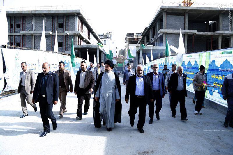 افتتاح خیابان ابوالفضل العباس(ع) در نجف +عکس