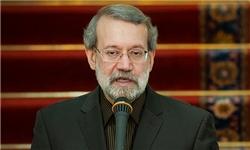 نشست منتخبین اصولگرای مجلس دهم با لاریجانی