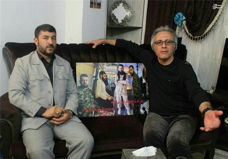 یکی از فتیلهایها مجری برنامهای برای مدافعانحرم +عکس