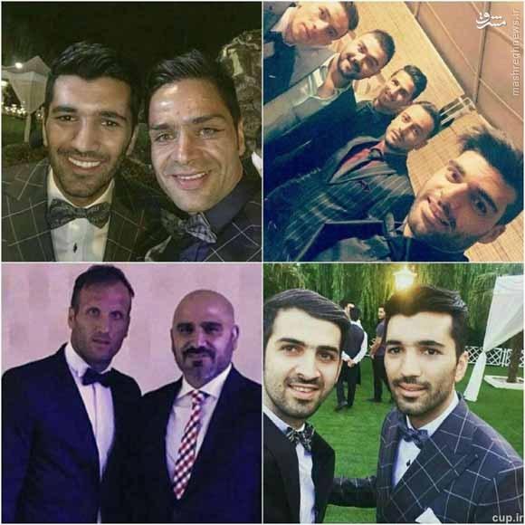 پرسپولیسیها در عروسی مسلمان +عکس