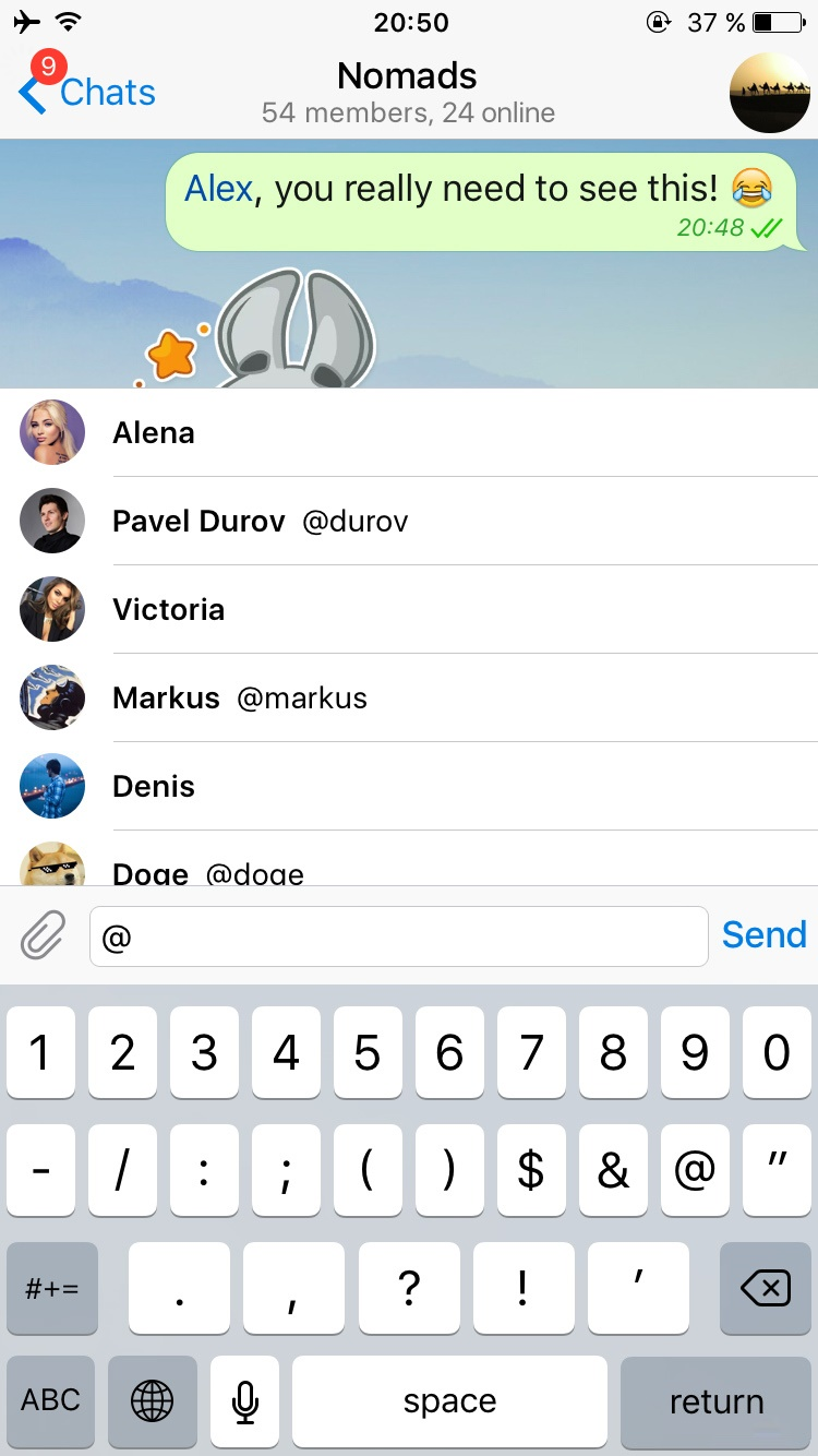 خواسته همیشگی کاربران تلگرام در آپدیت جدید