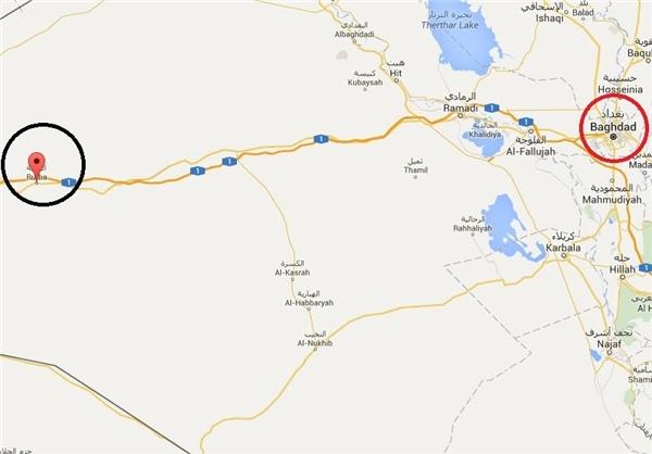 آغاز عملیات آزادسازی شهر «الرطبه» عراق +نقشه