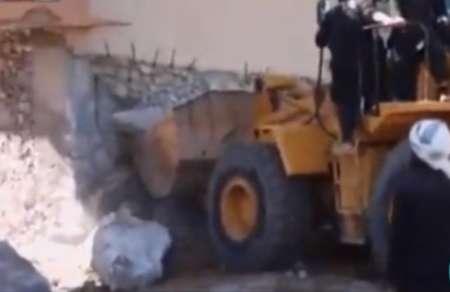 داعش قصر پادشاه آشور را در موصل تخریب کرد +عکس
