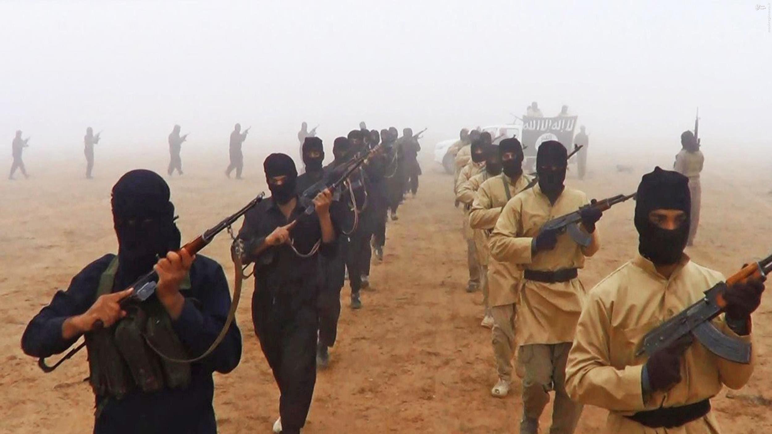 اتباع آمریکا در میان نیروهای داعش