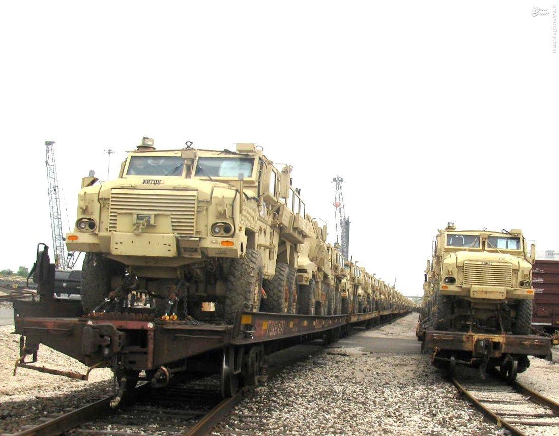 عکس/ تحویل کمک نظامی آمریکا به مصر