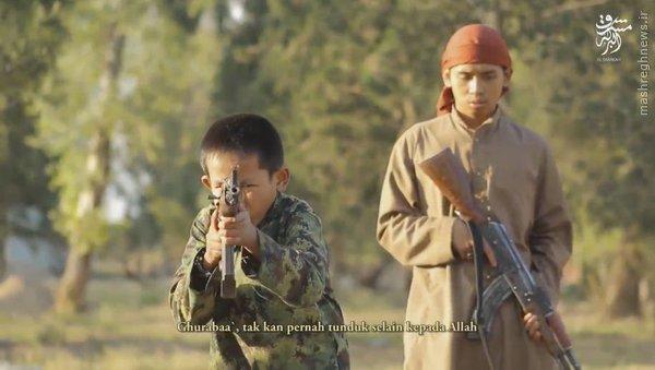 اردوگاه چشم بادامی های داعش+عکس