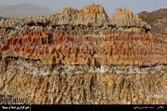 عکس/ زیباترین گنبد نمکی خاورمیانه