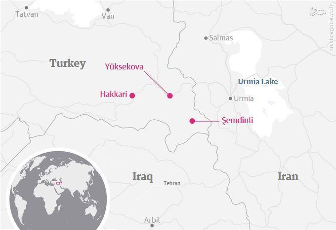 حمله پ.ک.ک به مقر ارتش ترکیه+فیلم و عکس