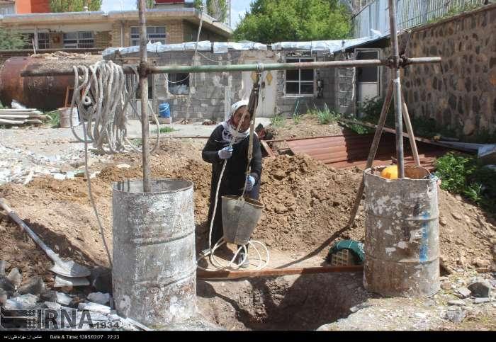 تصاویر/ زن و شوهر چاه کن