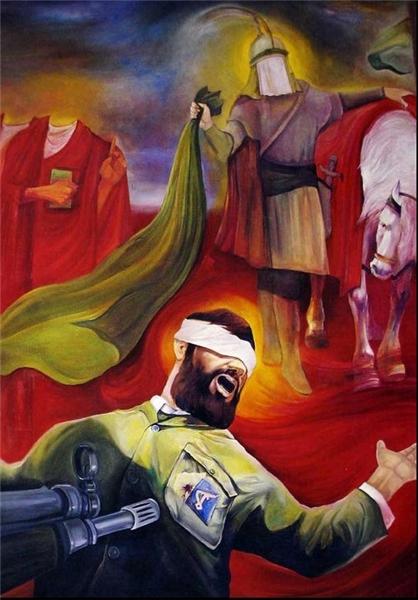 تمجید شهید مرتضی آوینی از یک تابلوی نقاشی