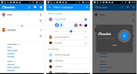 «iTranslate» مترجمی سخنگو با پشتیبانی از زبان فارسی+ دانلود