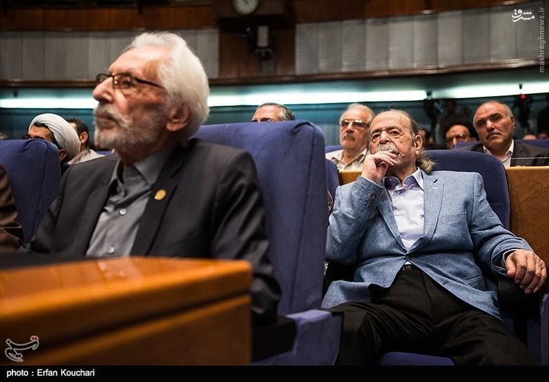 عکس/ پدر سالار در مراسم معارفه رئیس صداوسیما