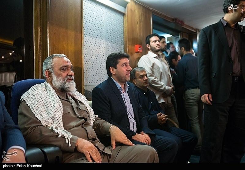 عکس/ سردار نقدی در مراسم معارفه رئیس صداوسیما