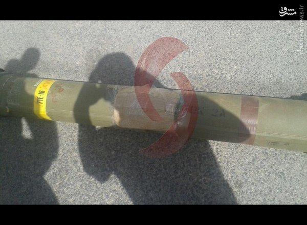 کشف محموله تسلیحات اسراییلی در جنوب سوریه+عکس