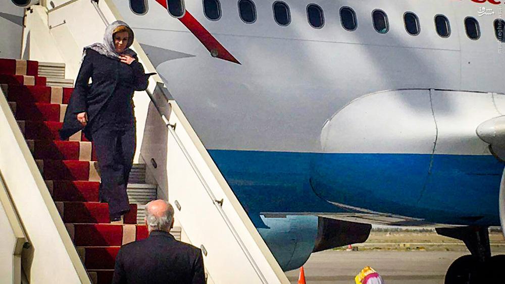 عکس/ حجاب رئیس جمهور کرواسی در تهران