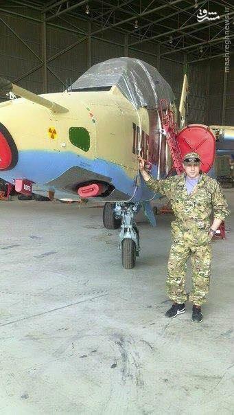 مستشاران نظامی روس در فرودگاه بغداد+عکس