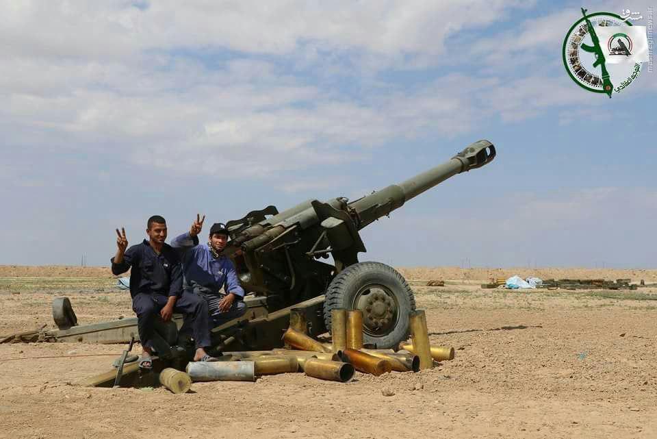 شمارش معکوس برای آغاز عملیات نظامی در فلوجه+عکس