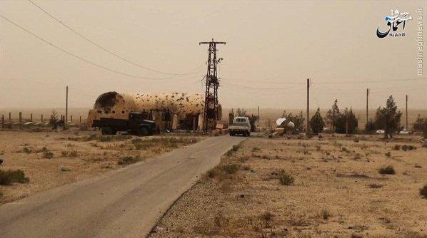 تخریب قبرستان مسحیان دیرالزور توسط داعش+عکس