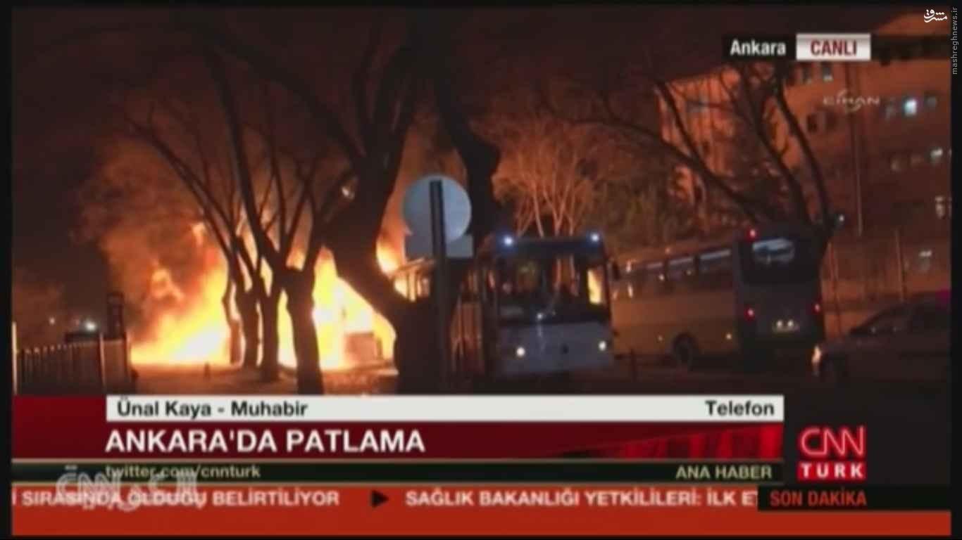 30 کشته در انفجار خونین ترکیه+عکس و فیلم