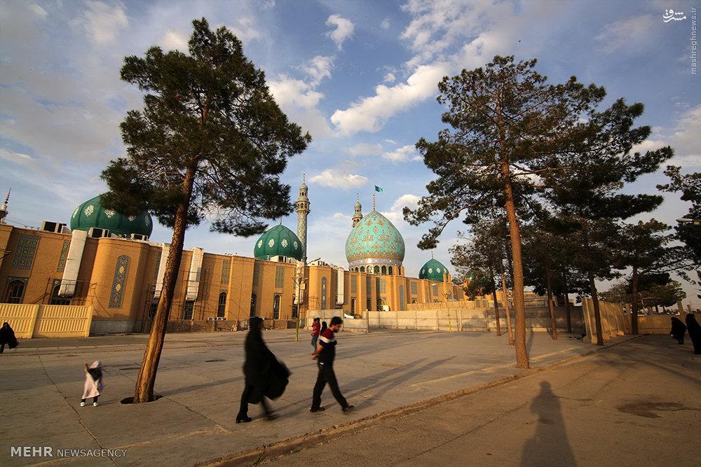مسجد جمکران عکس قدیمی