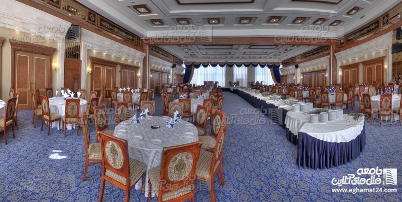 برگزاری همایش اقتصاد مقاومتی استانداران با اسکان در مجللترین هتل مشهد + تصاویر