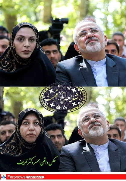 ماجرای جاسوسی همسر خیالی ظریف+عکس
