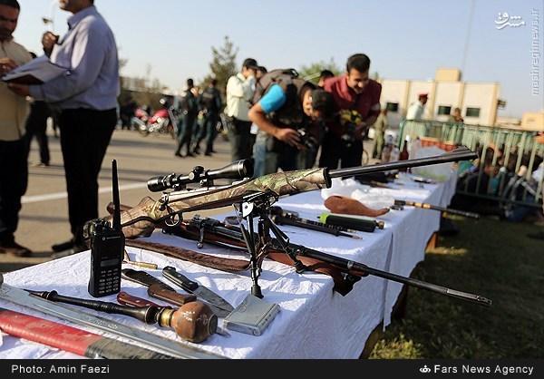 عکس/ سلاحی که از اوباش شیرازی ضبط شد
