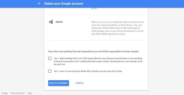 اکانت گوگل یا جیمیل خود را پاک کنید +آموزش