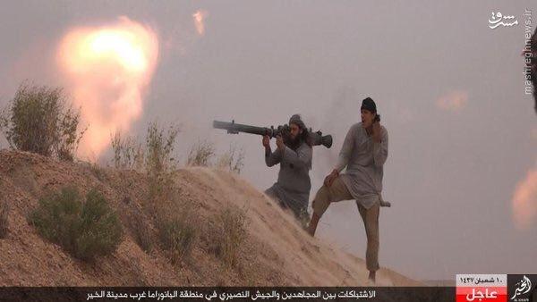 نبردهای دیرالزور به روایت داعش+عکس