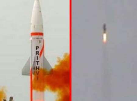 هند موشک جدید اتمی آزمایش کرد +عکس