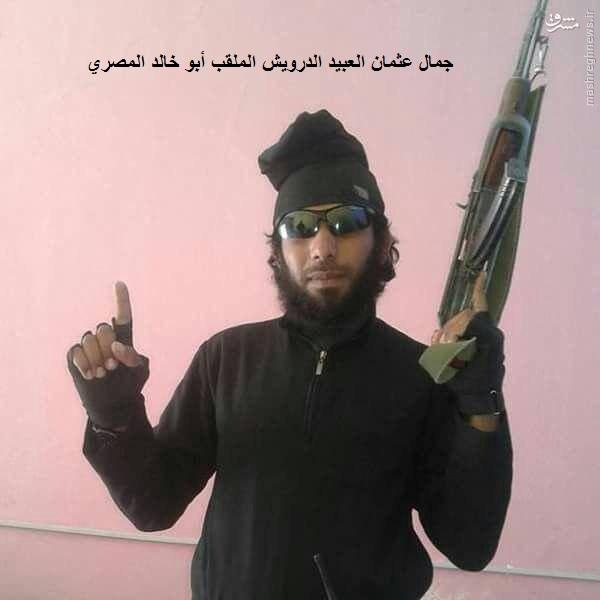 هلاکت دو فرمانده مصری تبار داعش در سوریه+عکس