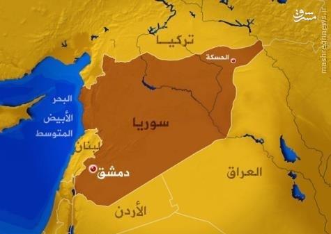 دور جدید درگیری شبه نظامیان کرد و ارتش سوریه در حسکه+فیلم و عکس
