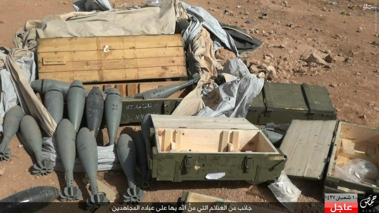 شبیخون داعش به پاسگاه ارتش سوریه+عکس