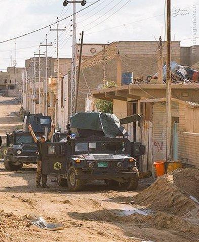 پاکسازی محله به محله الرطبه عراق+عکس