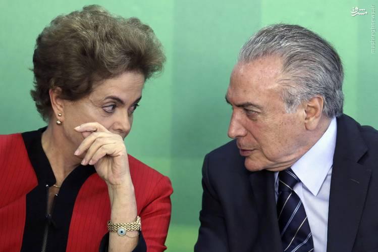 رییس جمهور موقت برزیل «آنتن» سیا بود!