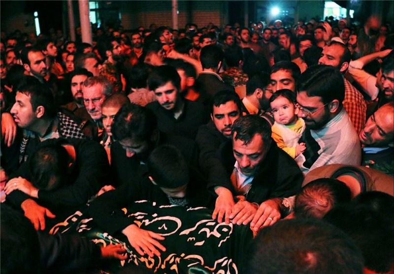 پیکر نخستین شهید مدافع حرم ارتشی گلستان وارد استان شد